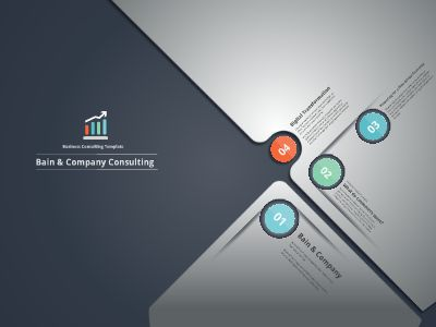 Business Consulting Presentation Template Free Download