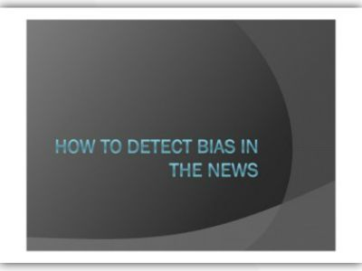how to detect bias