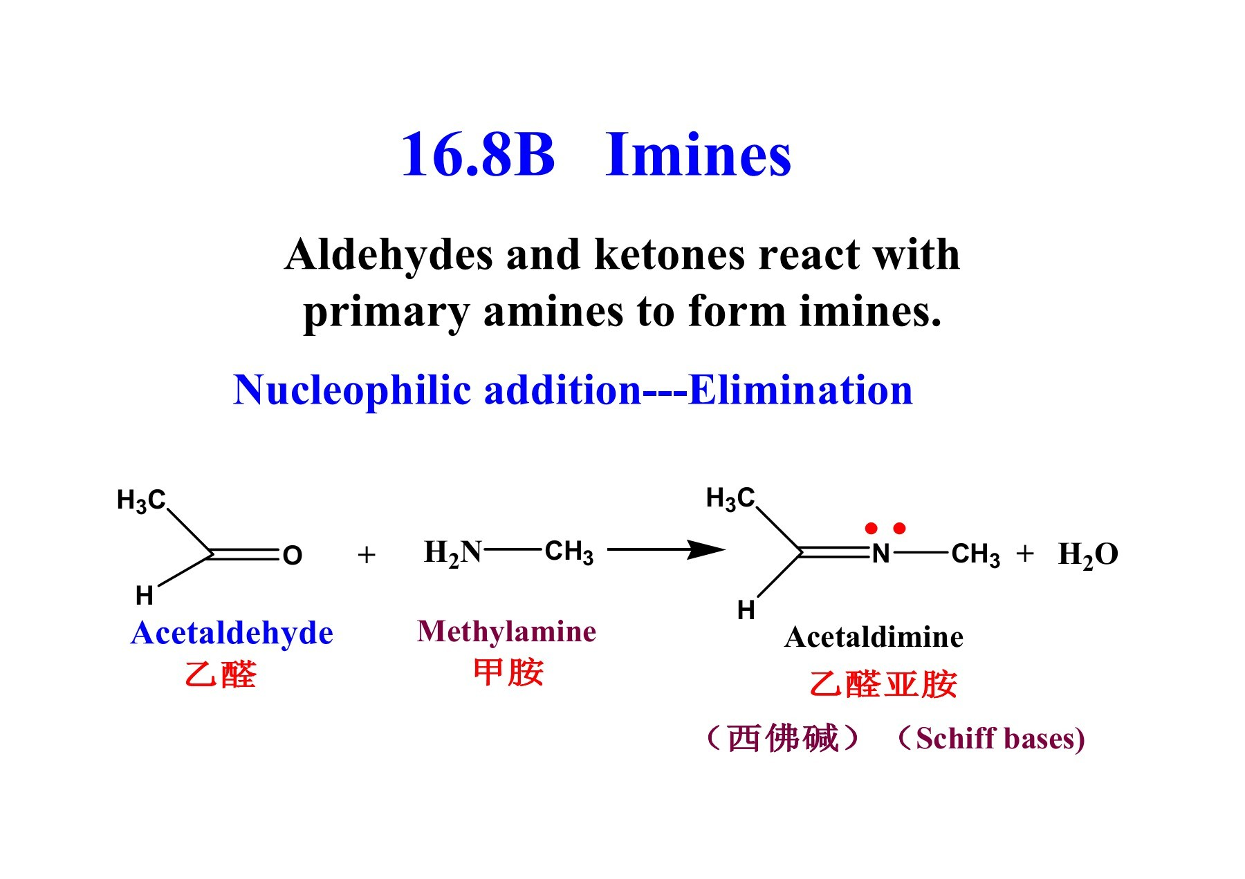 Chapter 16 Aldehydes and Ketones I  Nucleophilic additions