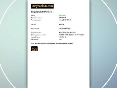 receipt maxis amni focusky