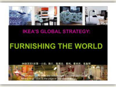 case 1 1 ikea s global strategy furnishing the world