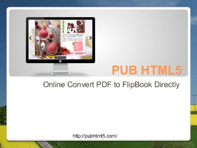 PUB HTML5-Online Convert PDF to FlipBook Directly | Focusky