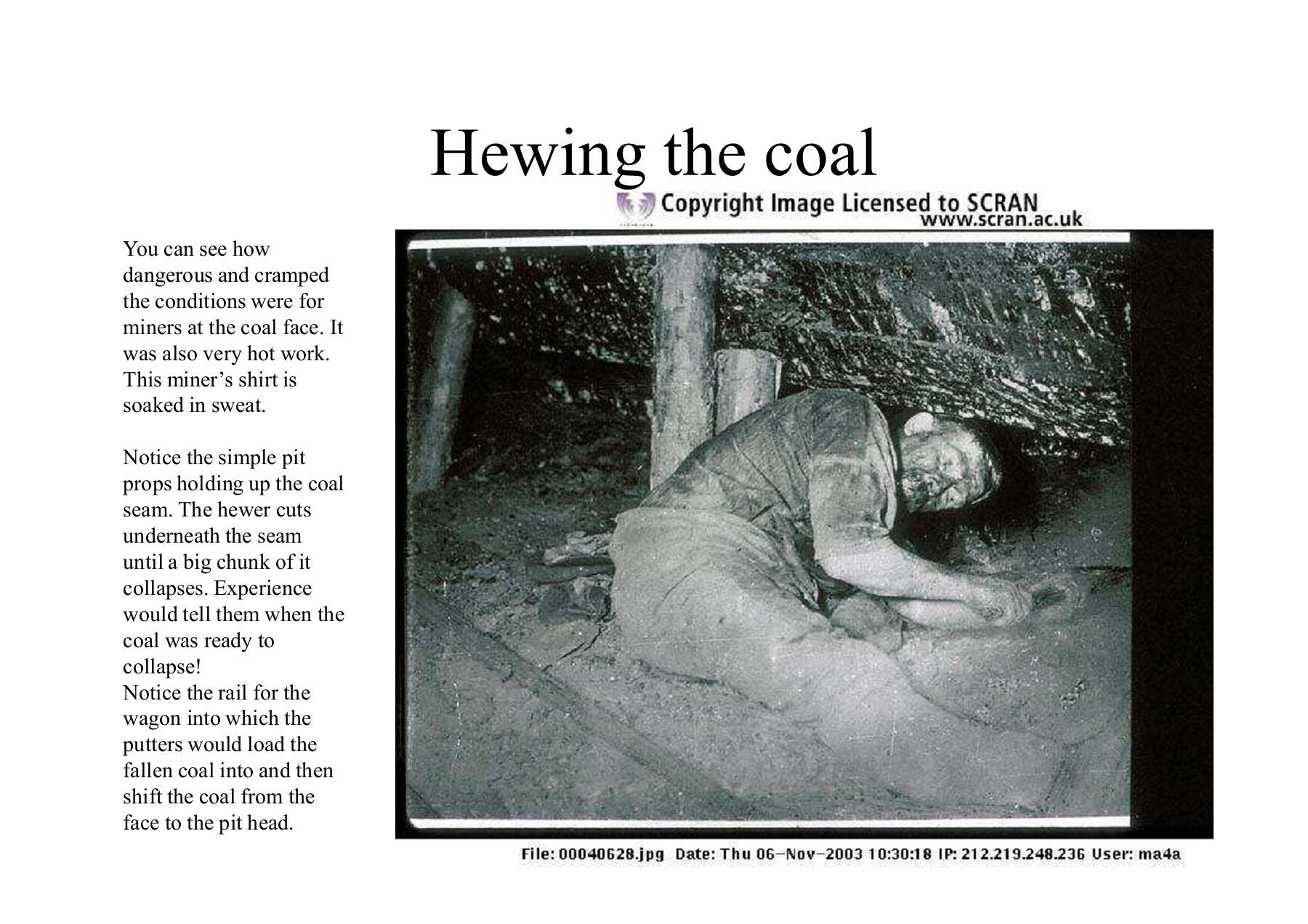 Coal Mining in Britain 1830' - 1930's - Wikispaces | Focusky