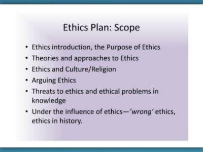 tok ethics notes