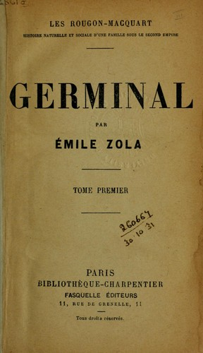 commentaire emile zola germinal maheu