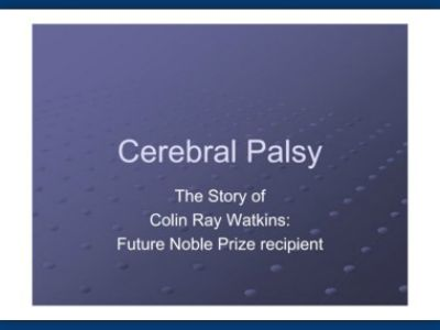 cerebral palsy case study occupational therapy Types of treatment/interventions occupational therapy to test the effectiveness of hbo therapy on cerebral palsy the best study was done in 2001 and.