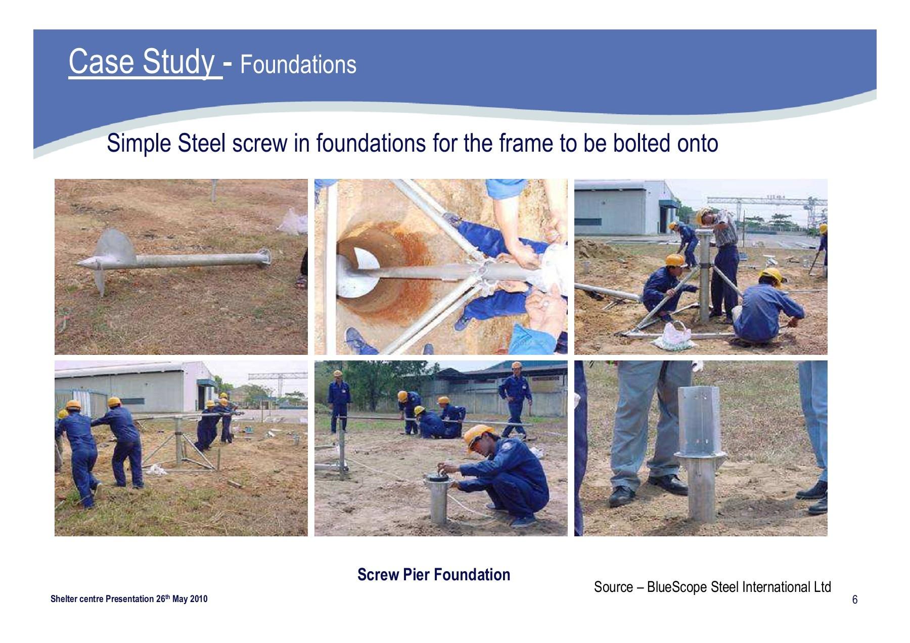 Guidelines – BlueScope Steel PowerPoint Template BlueScope