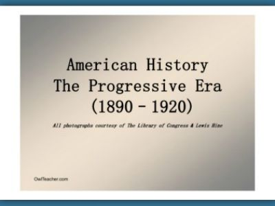 the progressive era of american history In which john green teaches you about the progressive presidents the progressive era are american imperialism: crash course us history #28.