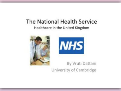a discussion of the changes in the national health service in the uk One of the important new changes we are introducing planning to meet the individual's overall health and national eligibility criteria - discussion.